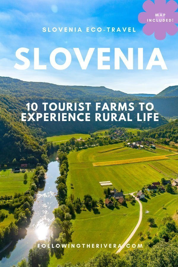 Going green in Slovenia: 10 of the most picturesque tourist farms 10