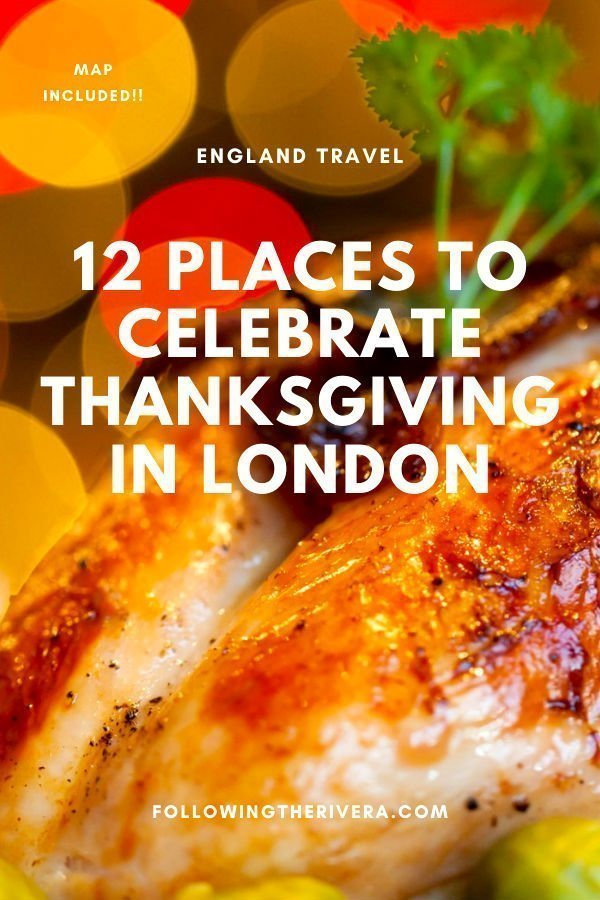 12 places in London to get your Thanksgiving turkey fix 12