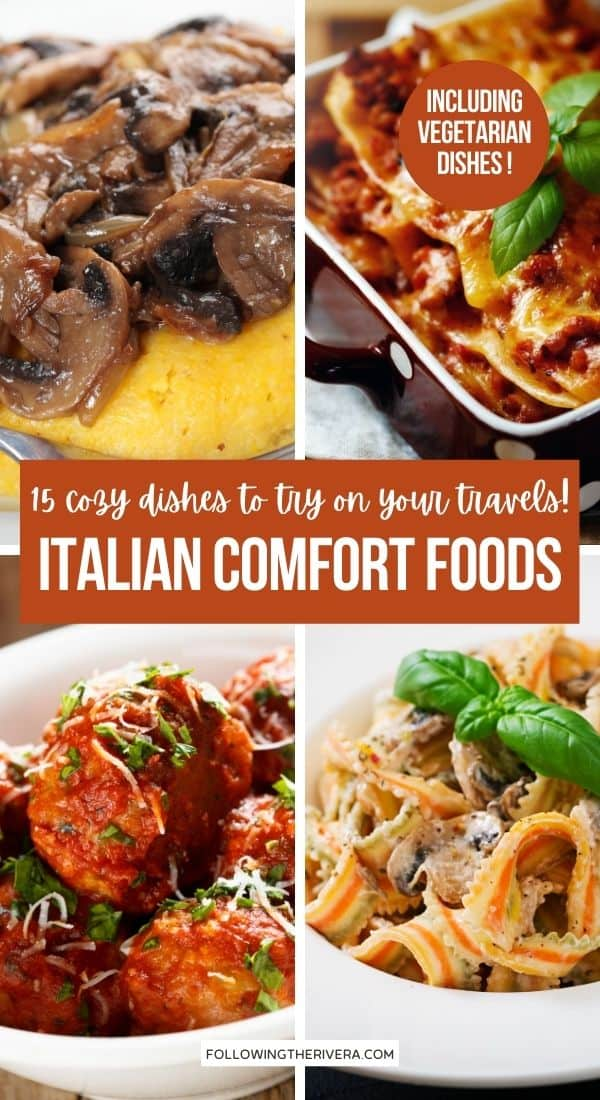 4 photos of Italian comfort foods for fall