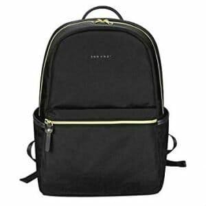 Black laptop backpack from KROSER - gifts for luxury travelers