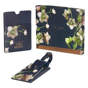 Ted Baker and Passport Set Luggage Tag - luxury gifts for travelers