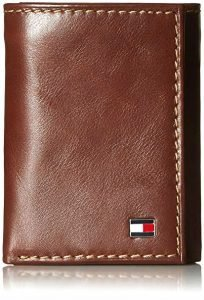 Tommy Hilfiger men's leather wallet - luxury gifts for travelers