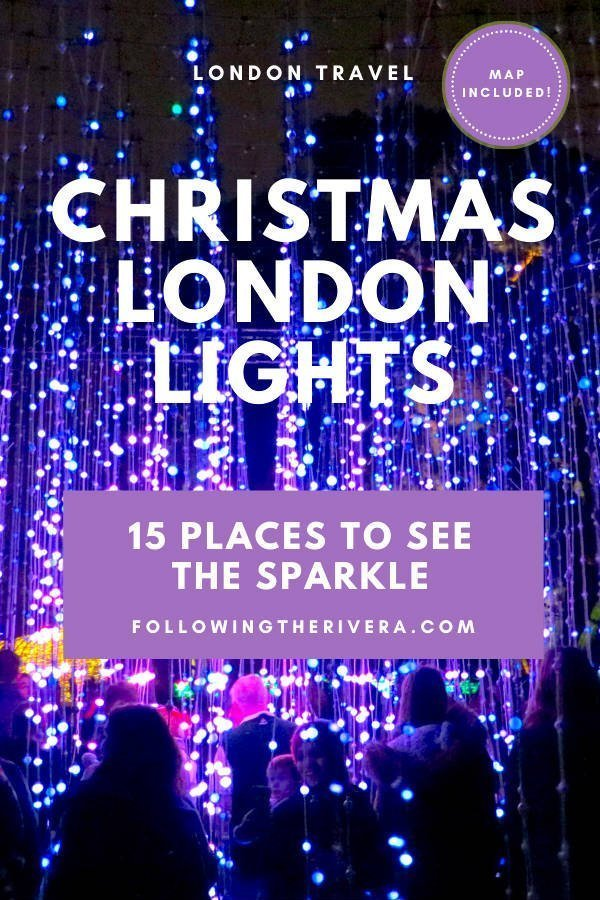15 dazzling places to see the Christmas lights in London 12