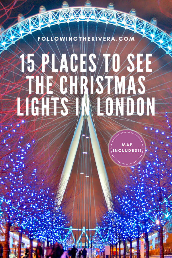 15 dazzling places to see the Christmas lights in London 14