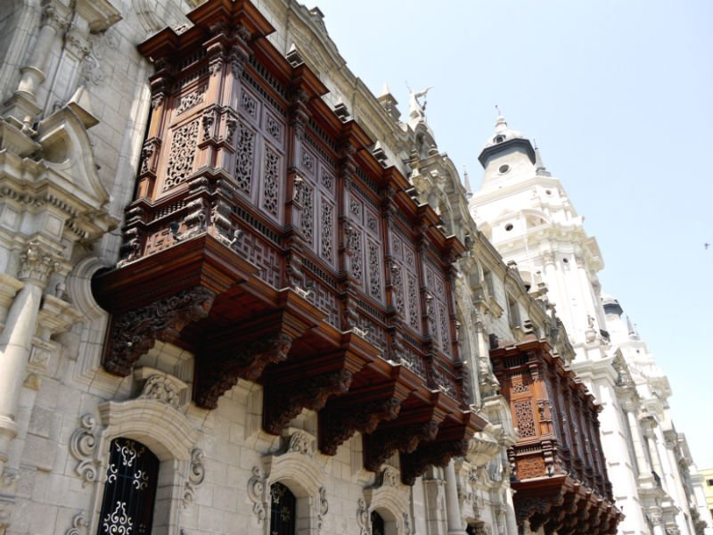Archbishop's Palace Lima - Best UNESCO world heritage sites