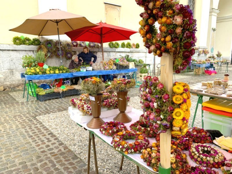 Flower market - Ljubljana attractions