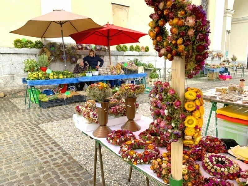 Flower market - Ljubljana attractions