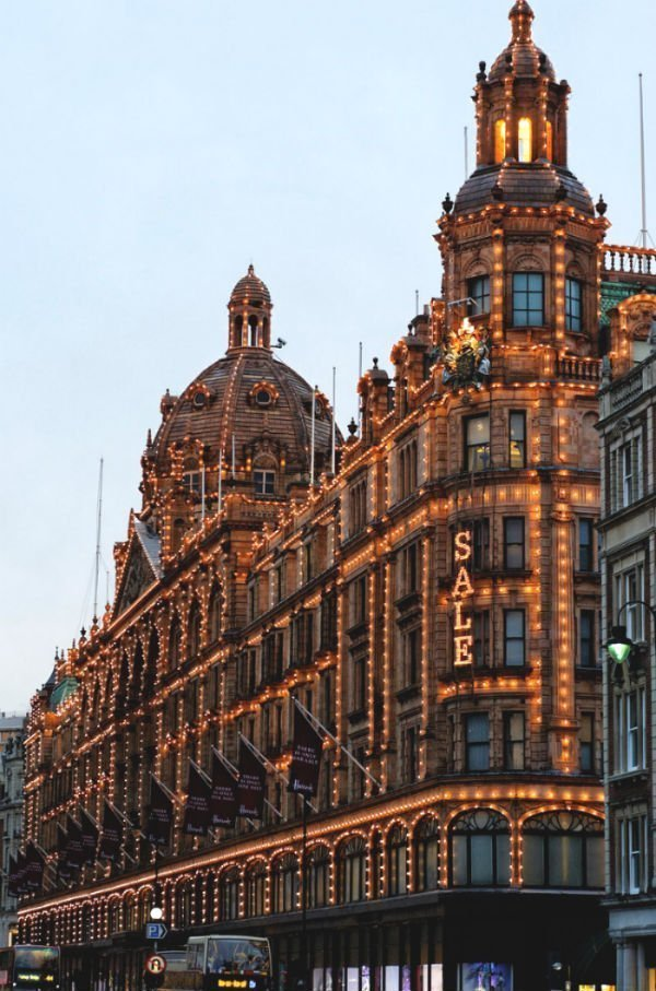 15 dazzling places to see the Christmas lights in London 6