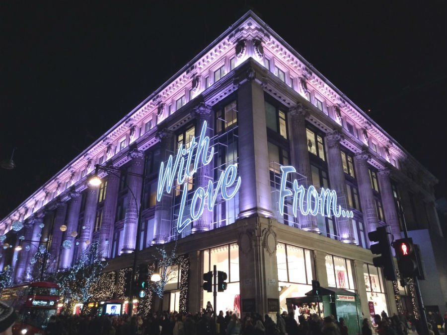 15 dazzling places to see the Christmas lights in London 5