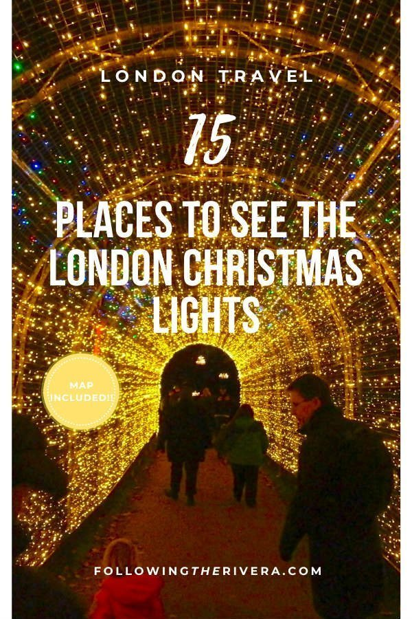15 dazzling places to see the Christmas lights in London 13