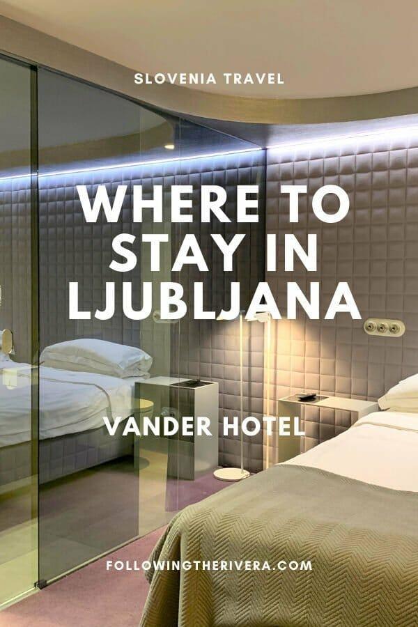 A blissful boutique hotel in Ljubljana — Vander Urbani Resort 8