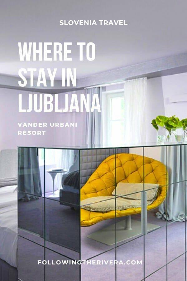 A blissful boutique hotel in Ljubljana — Vander Urbani Resort 7