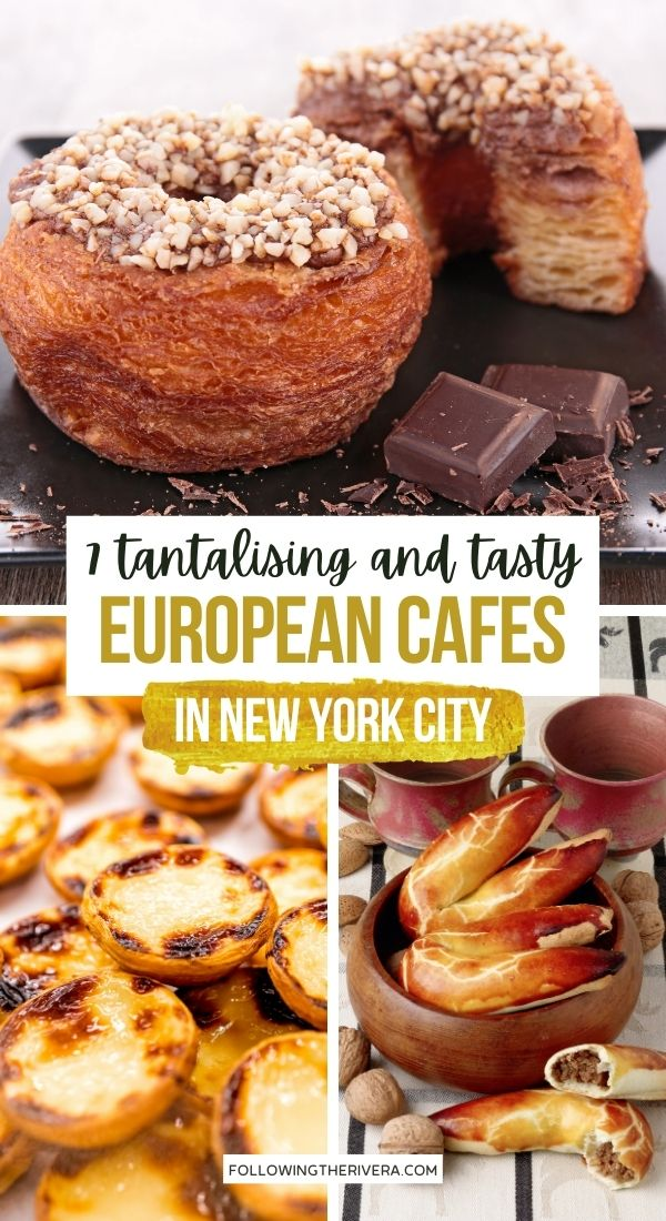 Cronut and pastries - European cafe NYC