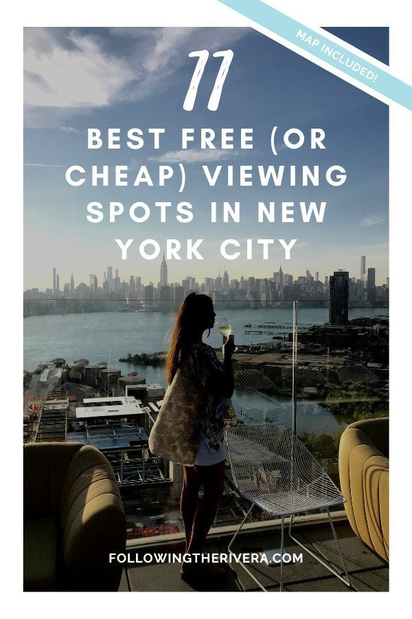 11 FREE or cheap best viewing points in New York City 12