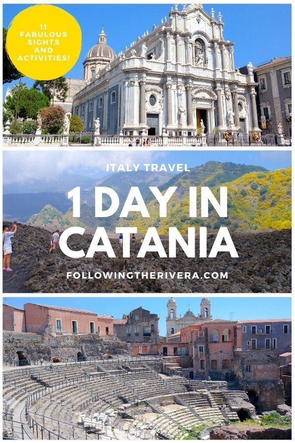 Catania in one day — 11 activities: 1 easy itinerary 10