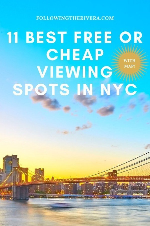 11 FREE or cheap best viewing points in New York City 13