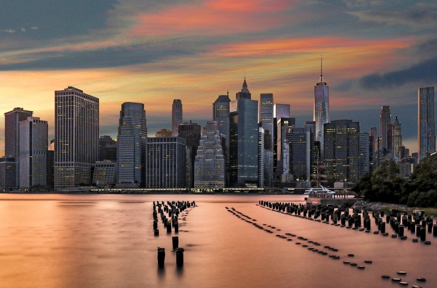 Sunset over New York City — best views in NYC for free