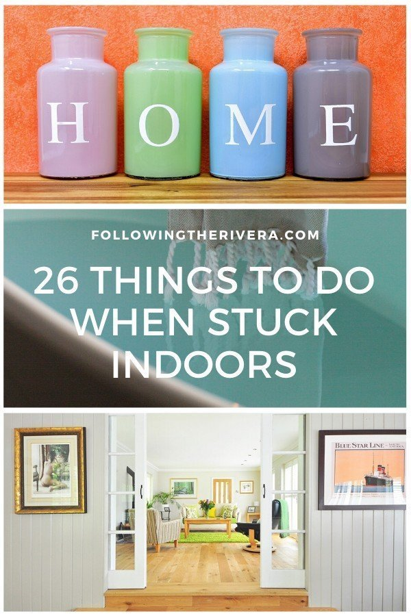 Stuck at home | 26 useful things to do 10