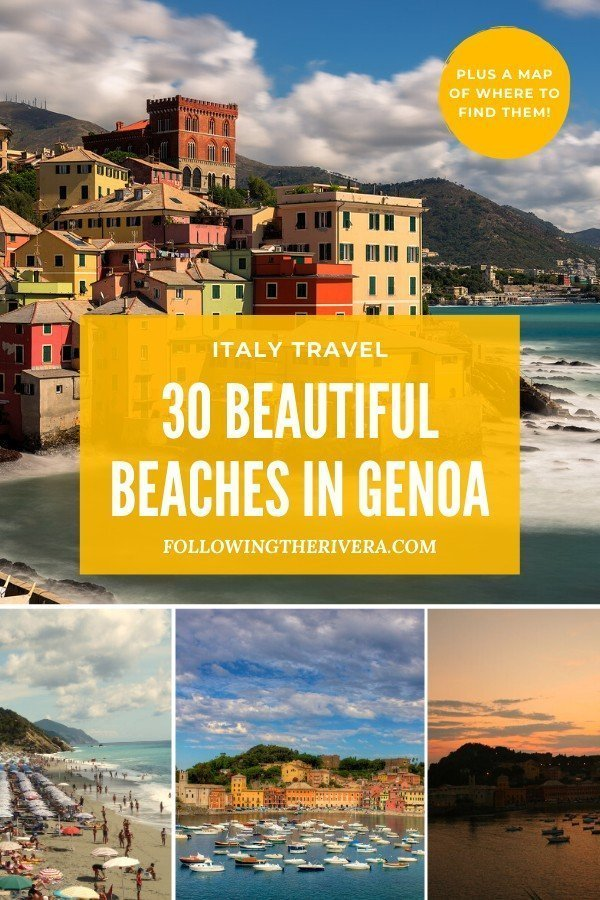 30 sizzling beaches to visit in Genoa 7