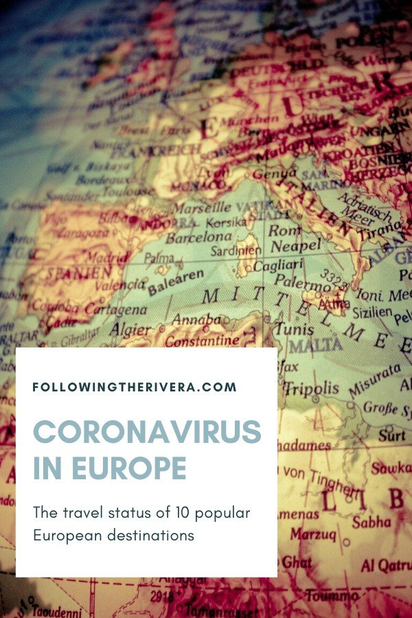 Coronavirus in Europe: the travel status of 10 popular destinations 11