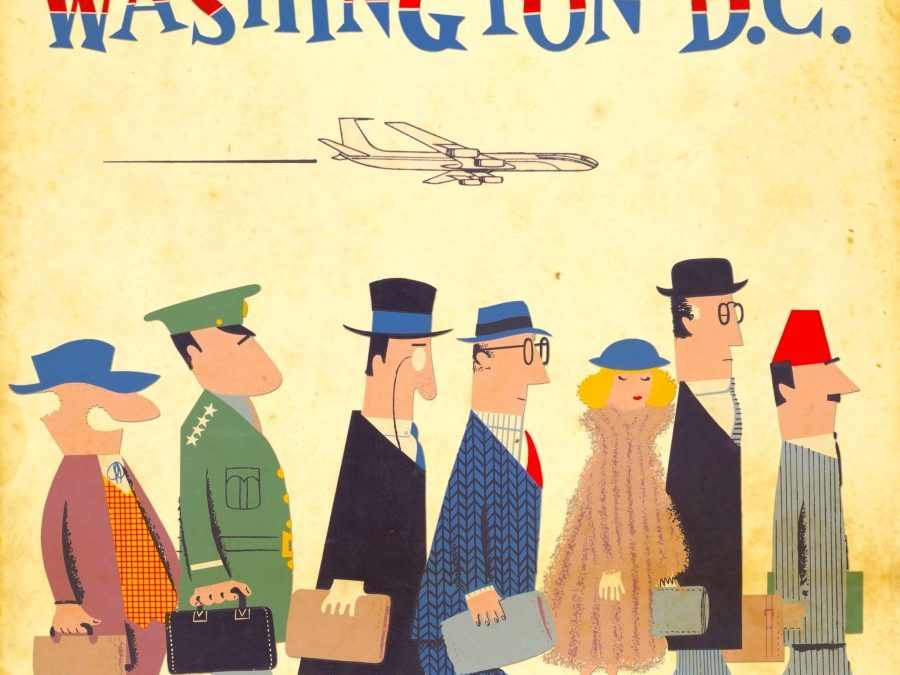 Vintage airline posters — 10 nostalgic time travel gifts