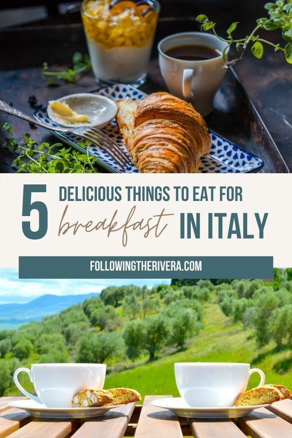 5 delicious things to eat for breakfast in Italy 6