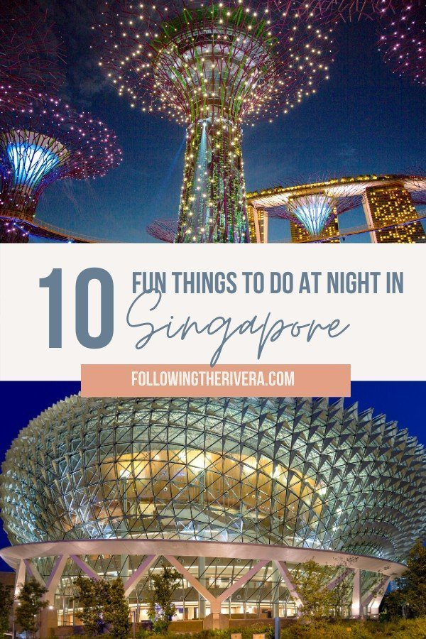 10 fun things to do at night in Singapore 10