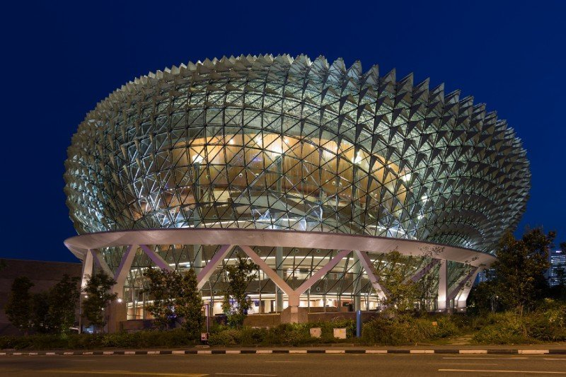 Esplanade Theatres on the Bay - things to do at night in Singapore
