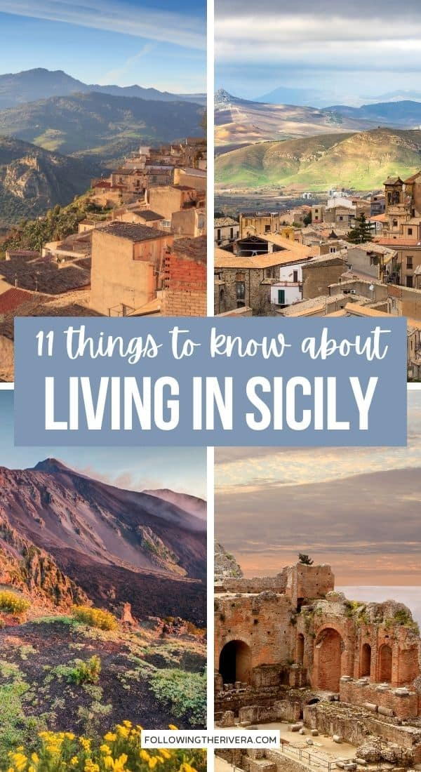 Collage living in Sicily