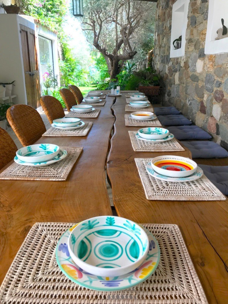 Mediterranean table - living in Sicily