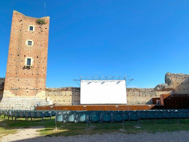 Castello di Romeo movie theater - Montecchio Maggiore