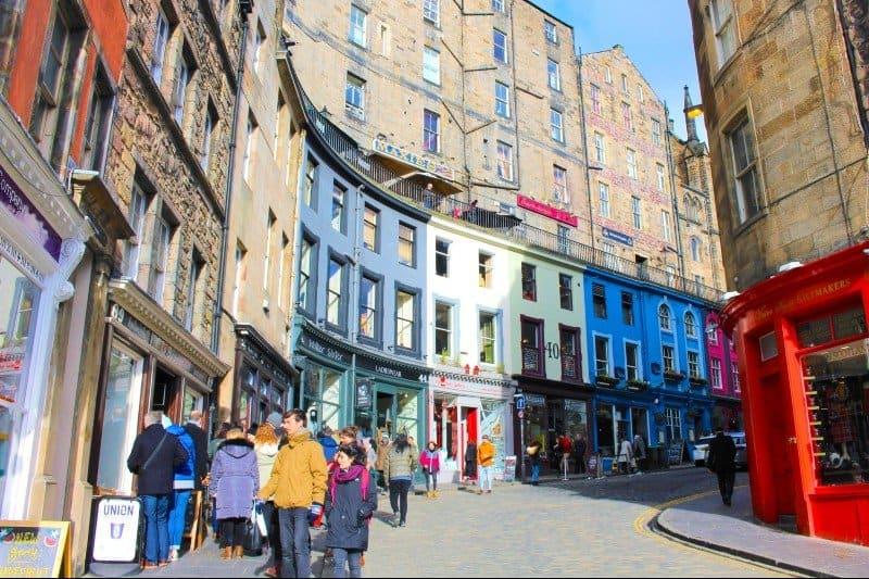 Edinburgh Victoria Street - Edinburgh city breaks