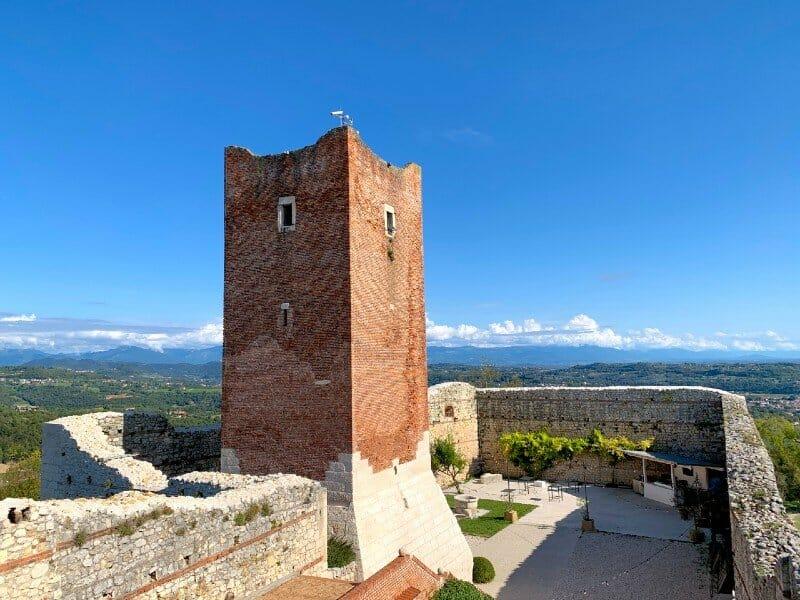 Tower of Castello di Giulietta - Montecchio Maggiore