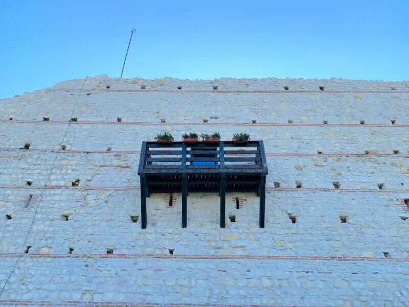 Wooden terrace at Castello di Giulietta - Montecchio Maggiore