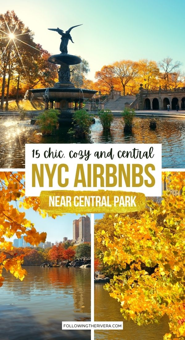 Photos of Central Park in autumn - Airbnb in NYC