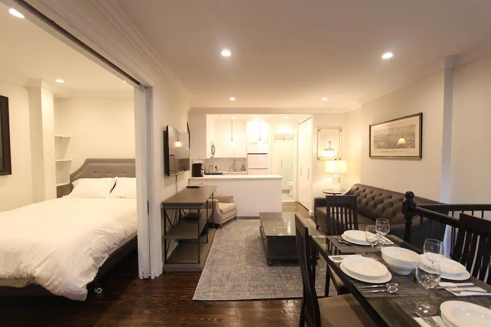 Bedroom and bathroom duplex in NYC