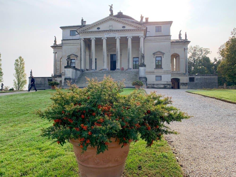 Exterior of Villa Rotonda Vicenza (1)