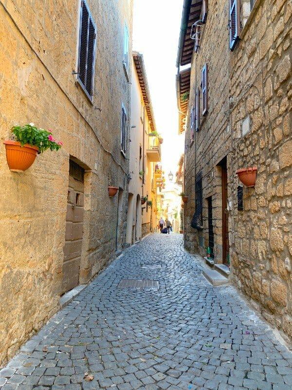 Streets in Orvieto - Orvieto Italy