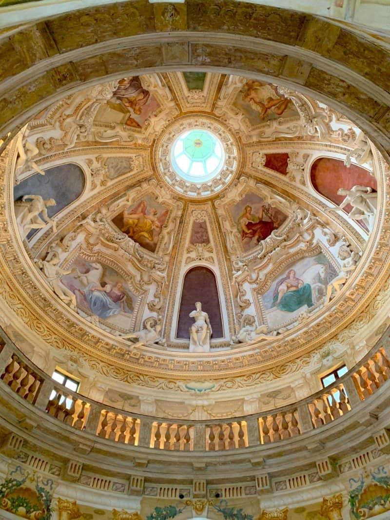 The dome at Villa Rotonda Vicenza