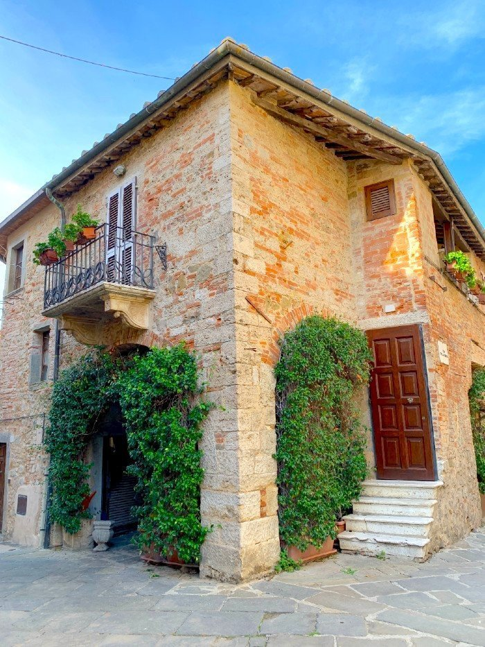 Tuscan house in Montemerano - a village in Tuscany