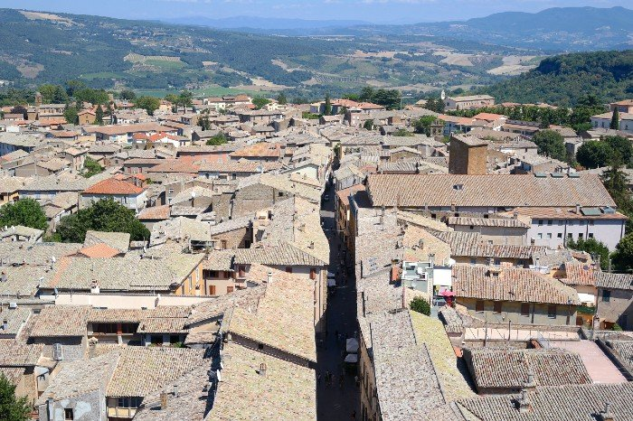 View from Torre del Moro - Orvieto Italy