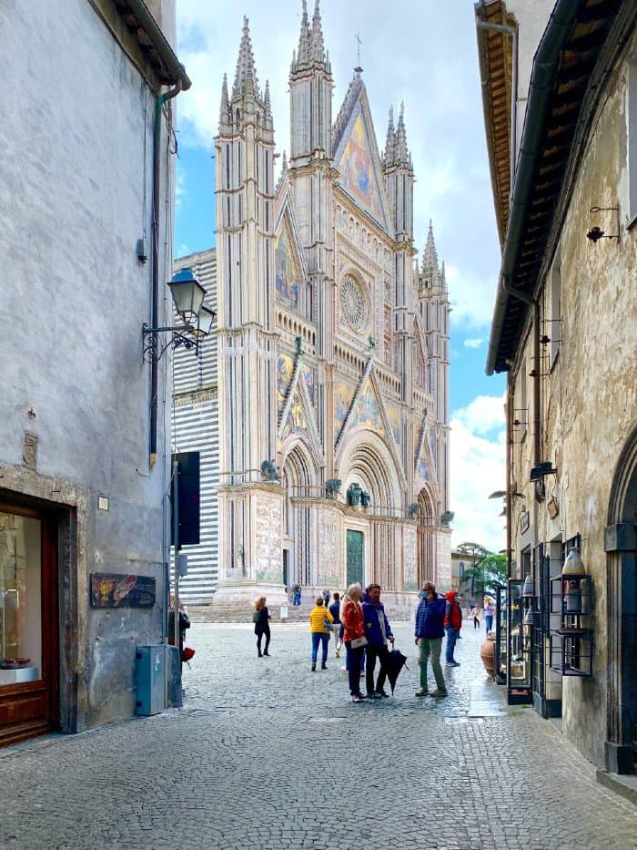 View of the Duomo di Orvieto - Orvieto Italy