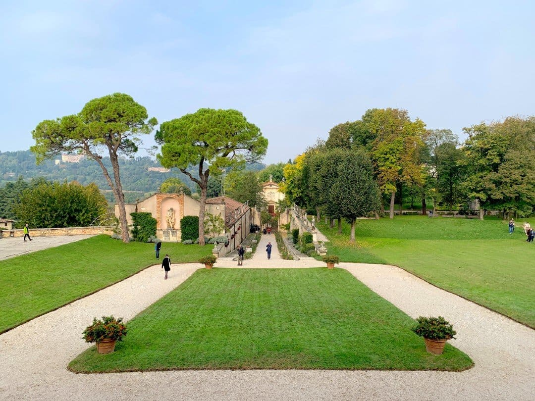 Villa Rotonda Vicenza gardens