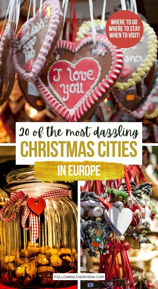 Photos of German gingerbread cookies and decorations - Christmas cities in Europe