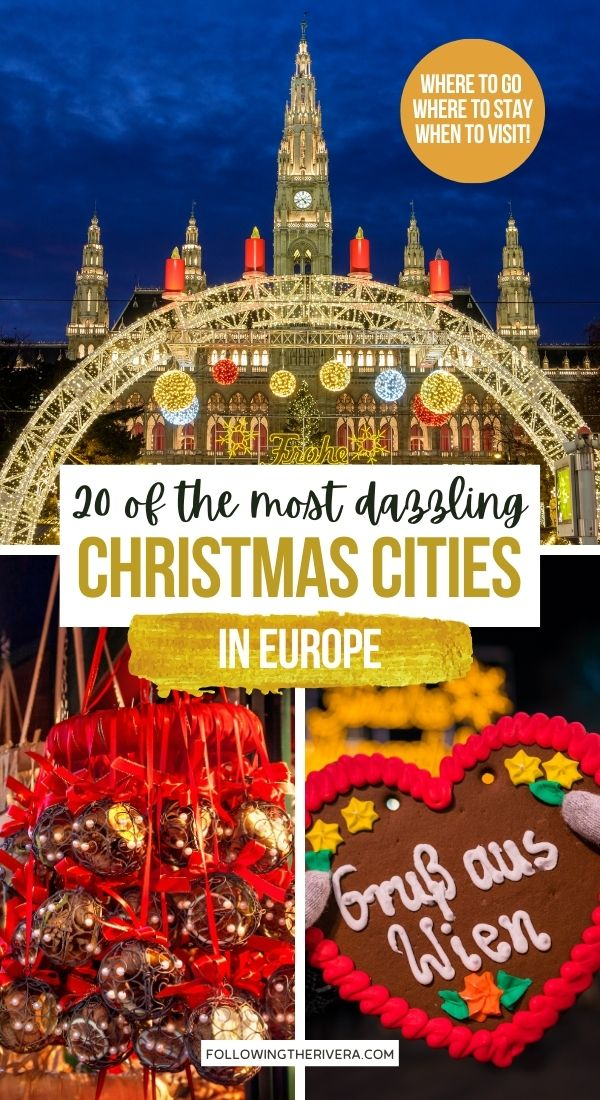 Photos of the Vienna Christmas market - best Christmas cities in Europe