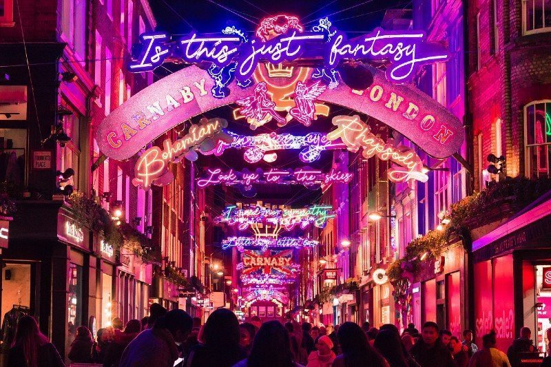 Christmas lights London — best Christmas cities in Europe