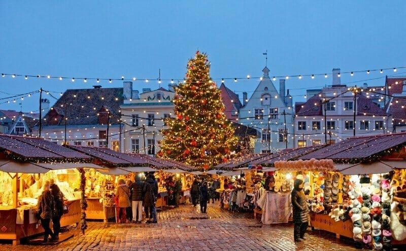 Christmas market Tallinn — best Christmas cities in Europe