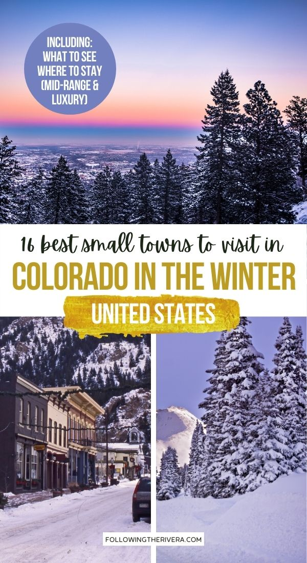 Photos of Colorado in winter - Places to visit in Colorado in the winter