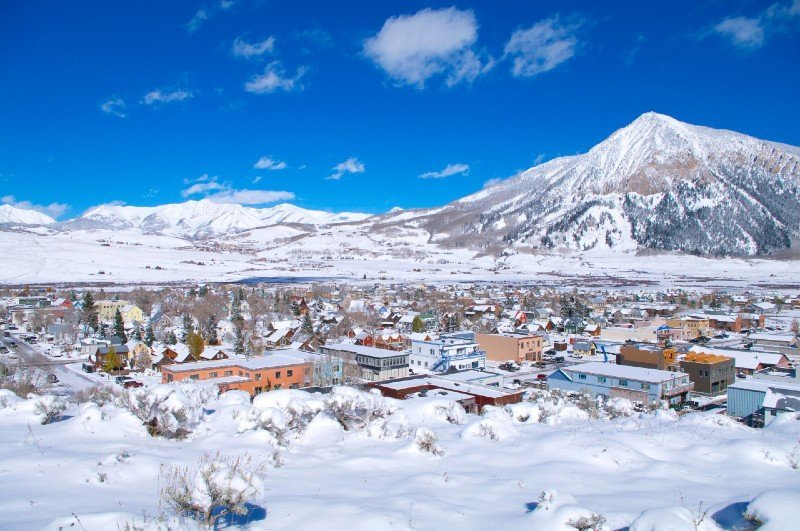 Crested Butte — places to visit in Colorado in the winter