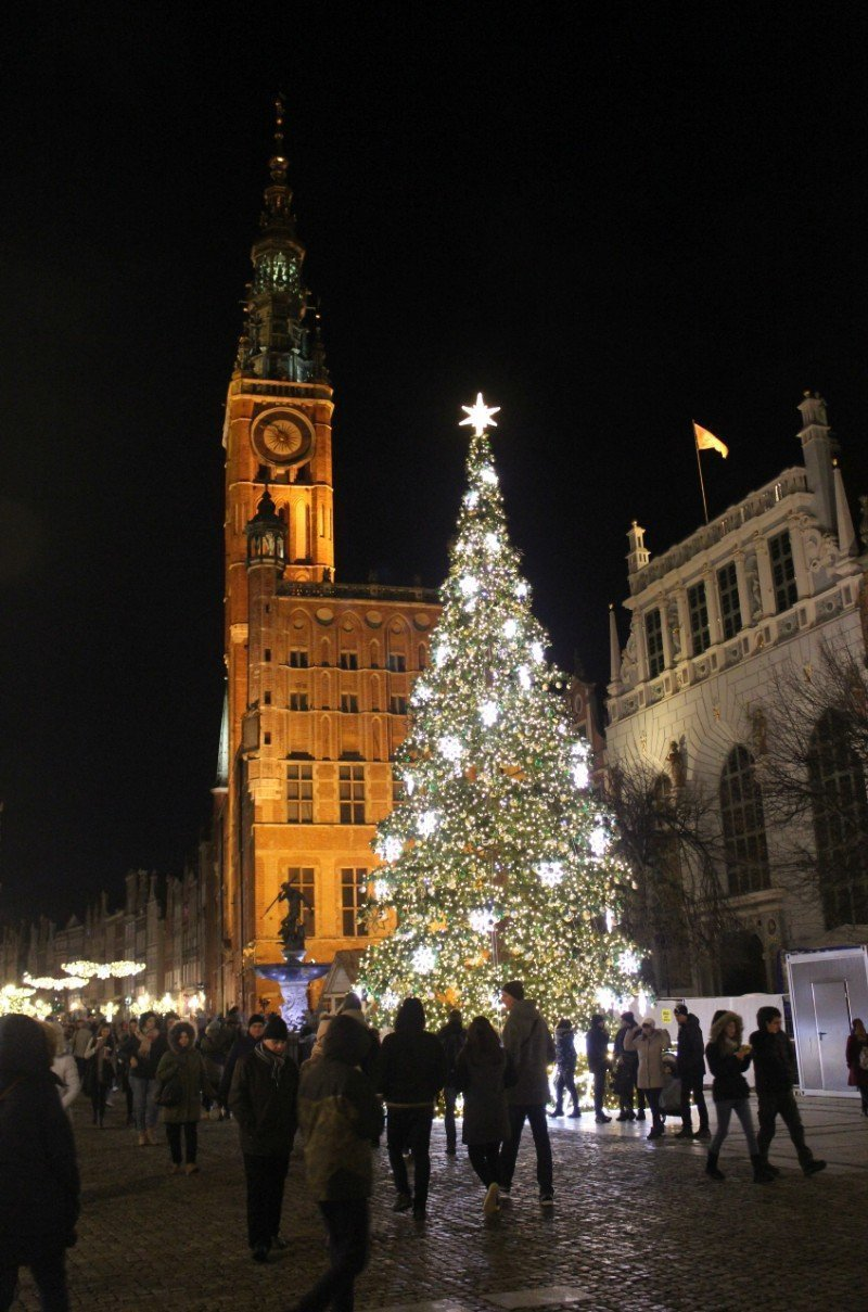 Gdansk Christmas tree — best Christmas cities in Europe